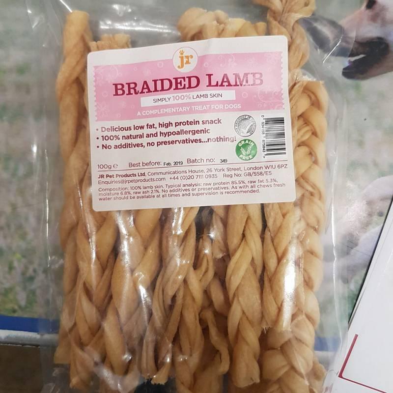 Braided lamb