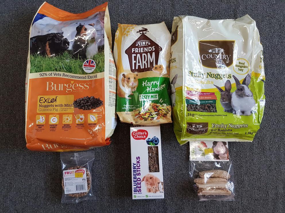 Small animal food & treat