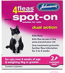Cat Flea and Tick Treatments