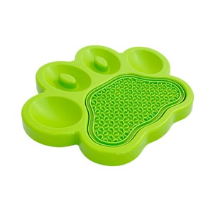 Green slow feeder