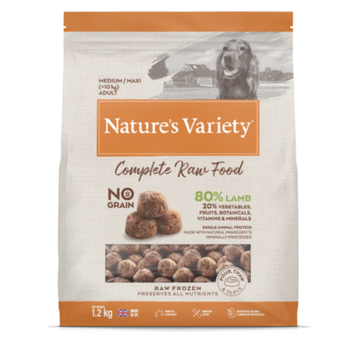 Natures Variety Complete Raw Dog Food